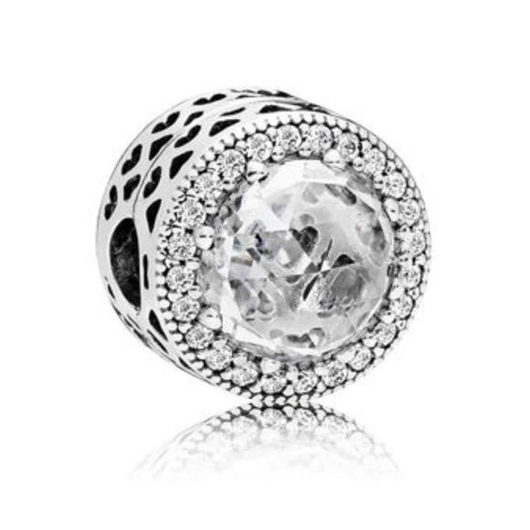 337a0464b Pandora Jewelry | New Radiant Heart Clear Cz | Poshmark